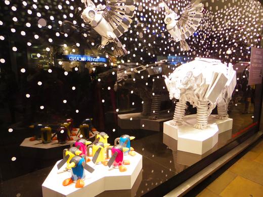 Christmas display @ John Lewis/ クリスマスディスプレイ @ ジョン・ルイス