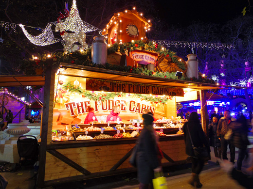 Christmas Market - Leicester Square, クリスマス・マーケット&遊園地 - レスター・スクウェア