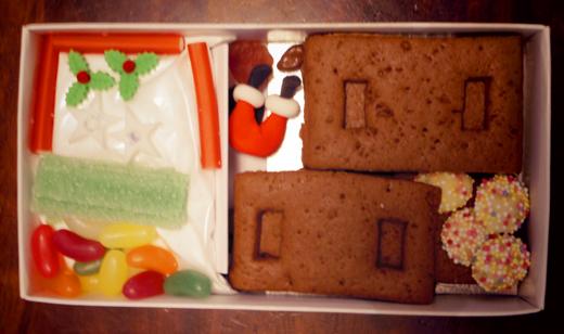 santas stuck,クリスマス,お菓子の家