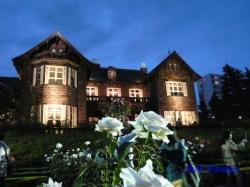 旧古河庭園バラと洋館のライトアップ5