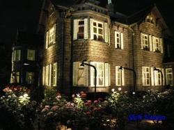 旧古河庭園バラと洋館のライトアップ8