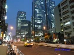 青梅街道西新宿夜景2