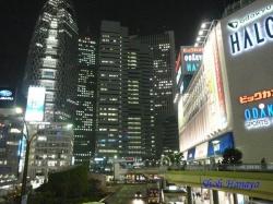 青梅街道西新宿夜景4