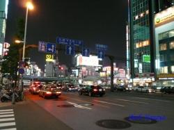 新宿大ガード夜景1