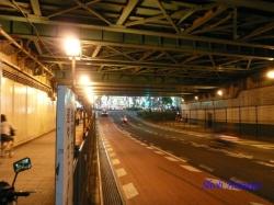 新宿大ガード夜景2