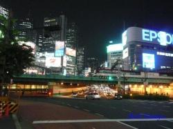新宿大ガード夜景4