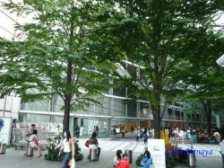 東京国際フォーラムの太田道灌像1