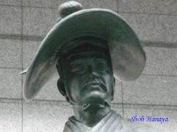 東京国際フォーラムの太田道灌像4