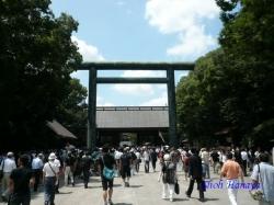 靖国神社終戦記念日2