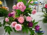 神代植物公園秋のバラ展を新宿駅西口広場で観賞その2_5