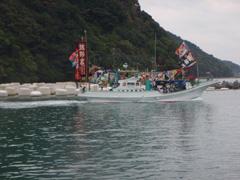 海のお祭り