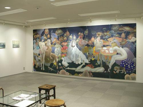 東北芸術工科大学 末永敏明准教授 企画『日本画コース4人展』