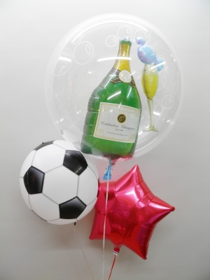 バルーンサッカーボール