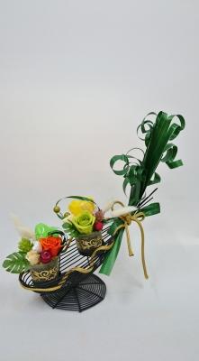 和のバルーンアレンジ 受付飾り ウエディングお祝い