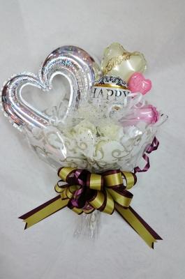ウエデイングバンチ  花束バルーン   お祝いバルーン