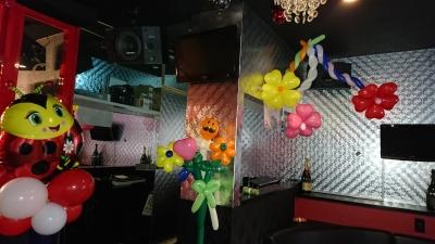 バルーン装飾 ホストクラブバルーン装飾