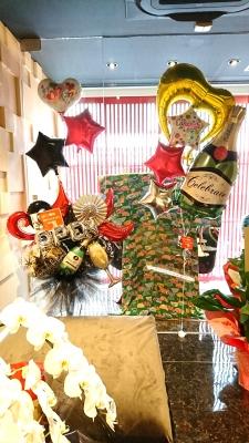 開店祝いバルーンスタンド バルーン スタンド 和風スタンド