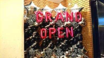 グランドオープンバルーン装飾  バルーンスタンド  バルーン装飾 バルーン外飾り