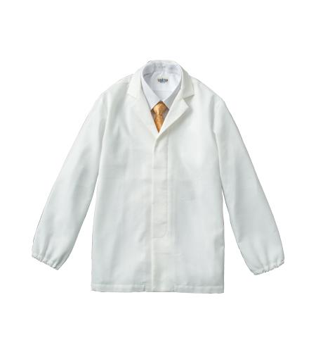 ワッフル白衣長袖