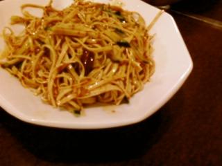 干豆腐の炒め物
