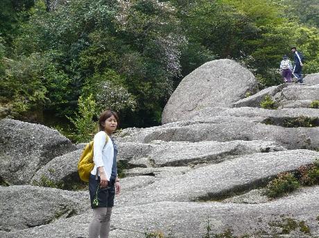 憩いの大岩