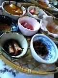 地鶏炭火焼きセットの前菜