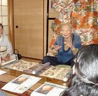 『山口伊太郎遺作展』を鑑賞した後、安次郎氏の自宅兼工房を訪問