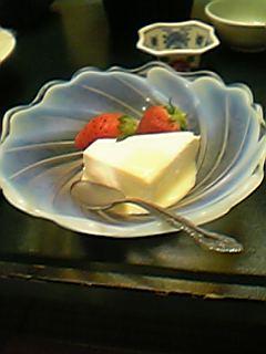 豆乳のデザート