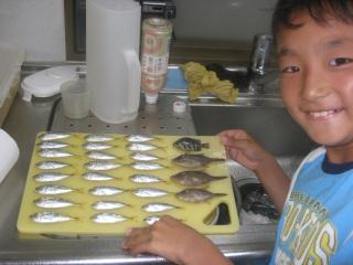 まな板 魚