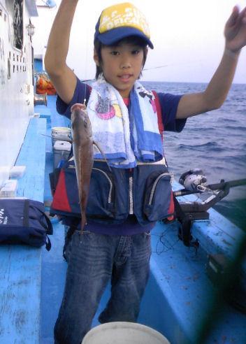 胴付きで真鯛