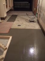 トイレ洗面所の床