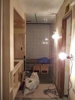 トイレ側から浴室を見る