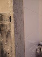 浴室壁のタイルもあと少し