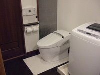 新しい洗濯機も届きました
