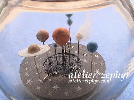 atelier*zephyrオーラリーボトル作品