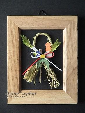 atelier*zephyr 京野菜のミニしめ飾り