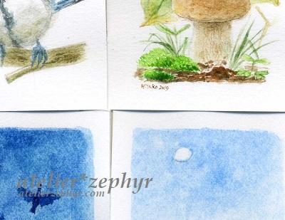 atelier*zephyr ミニ原画一部分