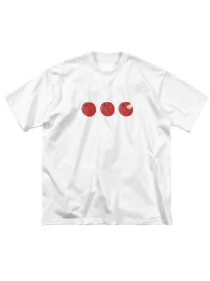 りんごTシャツ atelier*zephyr