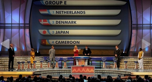 W杯2010抽選会
