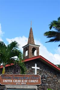モロカイ教会1