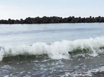田舎の写真 海
