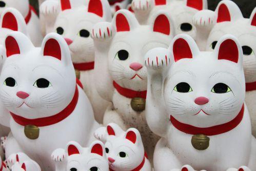 豪徳寺 招き猫