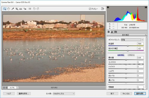 RAWファイル 一眼レフ photoshopelements