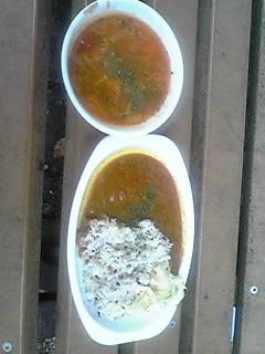 五穀米カレー