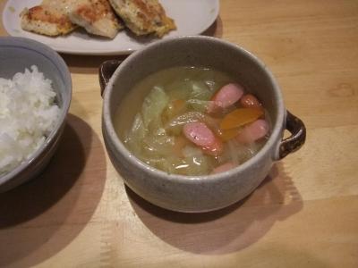 焼きそば粉スープ