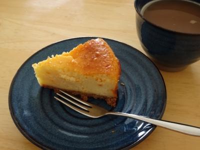 お手製チーズケーキ