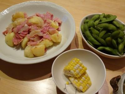 朝霞野菜飯