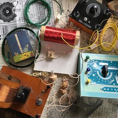 鉱石ラジオキット・銀河通信社