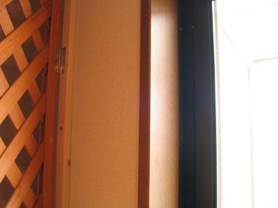 屋上のドア