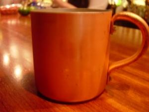 銅製マグカップ